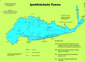 Sportfiskekarta Tisaren